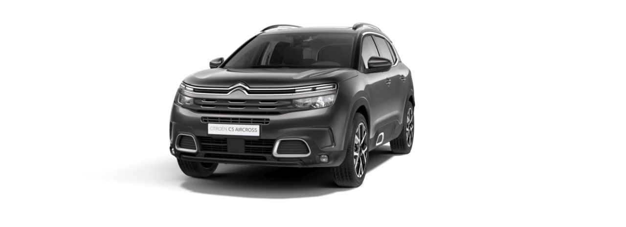 Citroen New C5 Aircross SUV Platinum Grey