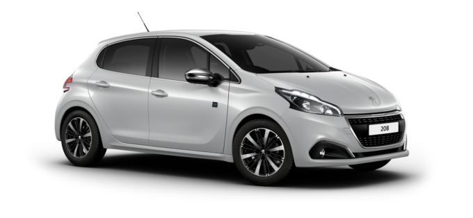 Peugeot 208 5-Door Cumulus Grey