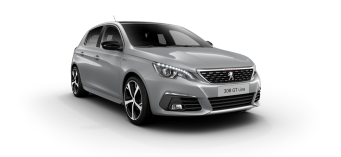 Peugeot 308 5-Door Cumulus Grey