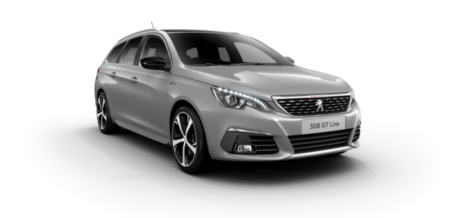 Peugeot New 308 SW Cumulus Grey