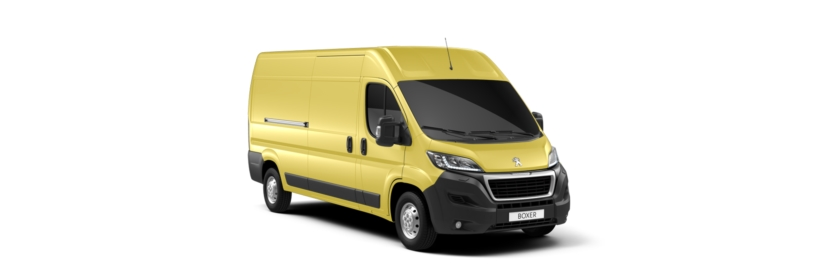 Peugeot Boxer Horizon Yellow