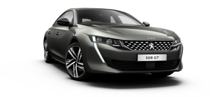 Peugeot All-new 508 Fastback Amazonite Grey
