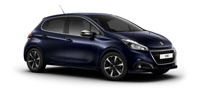 Peugeot 208 5-Door Twilight Blue