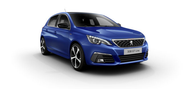 Peugeot 308 5-Door Magnetic Blue