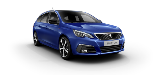 Peugeot New 308 SW Magnetic Blue