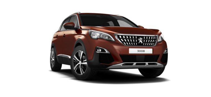 Peugeot 3008 SUV Sunset Copper