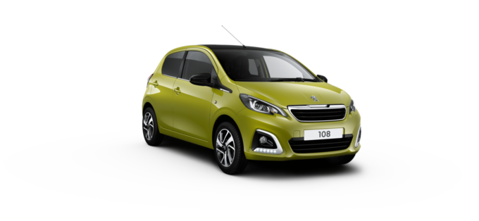 Peugeot 108 TOP! cabrio Green Fizz