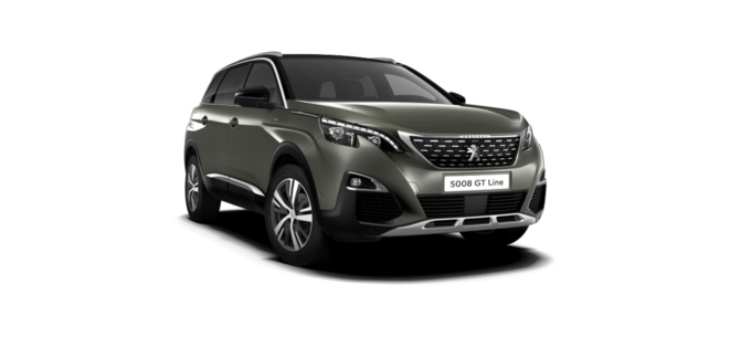 Peugeot New 5008 SUV GT Line Premium Amazonite Grey