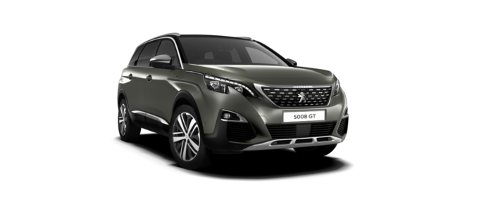 Peugeot New 5008 SUV GT Amazonite Grey