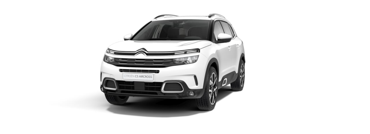 Citroen New C5 Aircross SUV Polar White