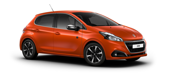 Peugeot 208 5-Door Orange Power