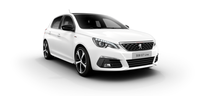 Peugeot 308 5-Door Pearlescent White