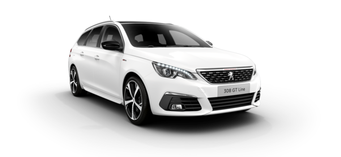 Peugeot New 308 SW Pearlescent White