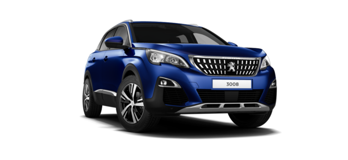 Peugeot 3008 SUV Magnetic Blue