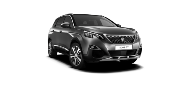 Peugeot New 5008 SUV GT Nimbus Grey