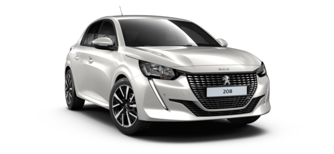 Peugeot All New 208 Pearlescent White