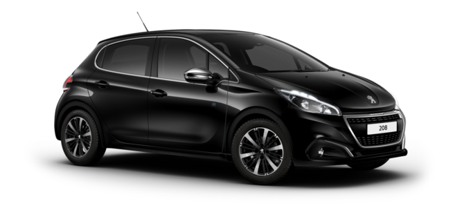 Peugeot 208 5-Door Nera Black