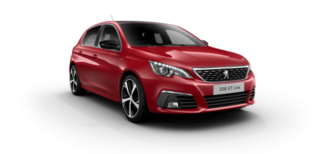 Peugeot 308 5-Door Ultimate Red