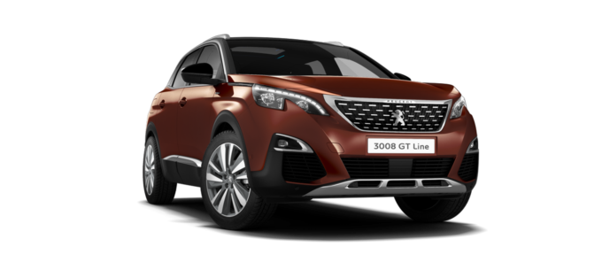Peugeot 3008 SUV GT Line Premium Sunset Copper