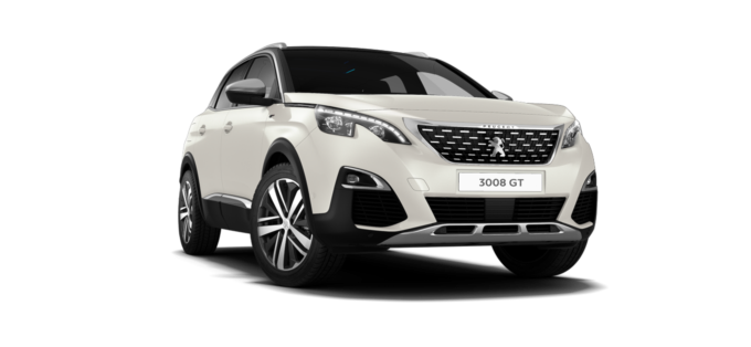 Peugeot 3008 SUV GT Pearlescent White