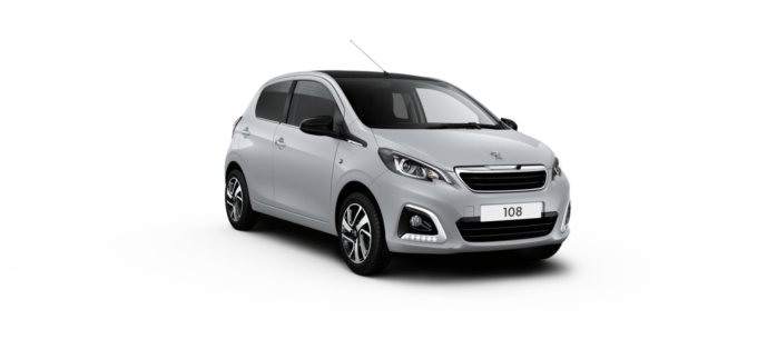 Peugeot 108 Hatchback Zircon Grey