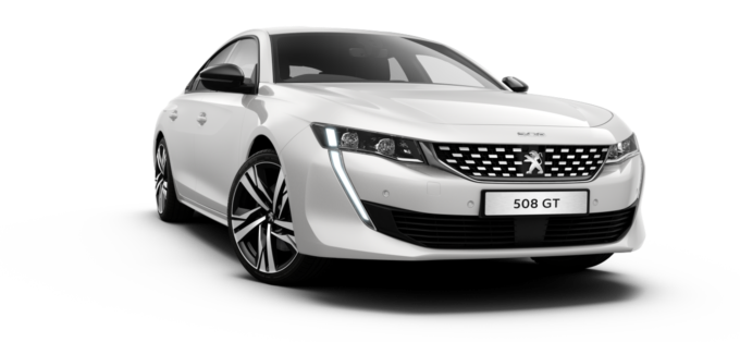 Peugeot All-new 508 Fastback Pearlescent White