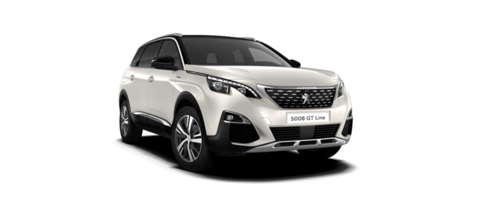 Peugeot NEW 5008 SUV GT Line Pearlescent White