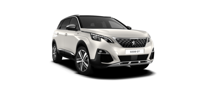 Peugeot New 5008 SUV GT Pearlescent White