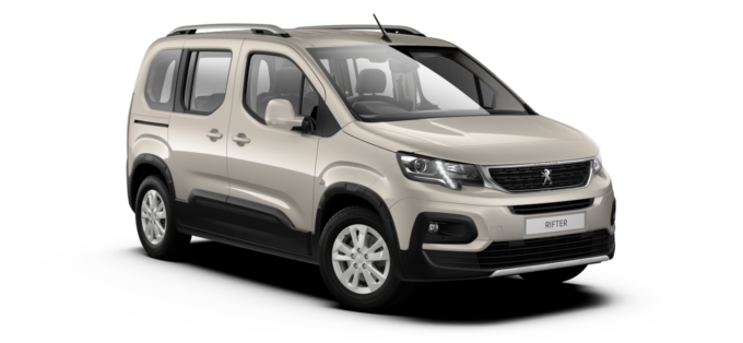 Peugeot All-New Rifter Silky Grey