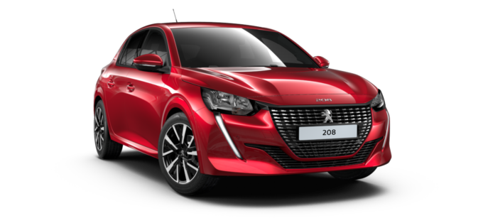 Peugeot All New 208 Elixr Red
