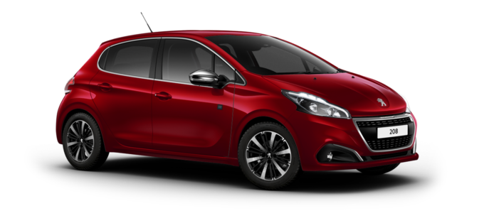 Peugeot 208 5-Door Elixir Red