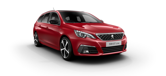 Peugeot New 308 SW Ultimate Red