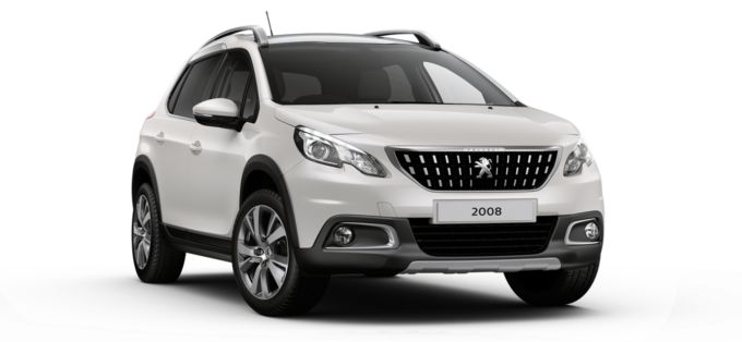 Peugeot 2008 SUV Pearlescent White