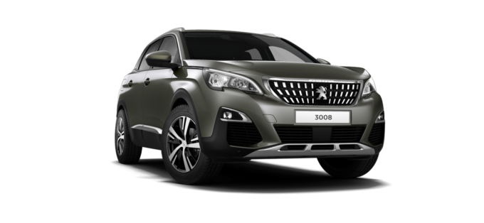 Peugeot 3008 SUV Amazonite Grey