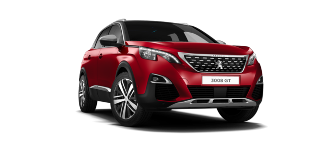 Peugeot 3008 SUV GT Ultimate Red