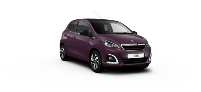 Peugeot 108 Hatchback Purple Berry