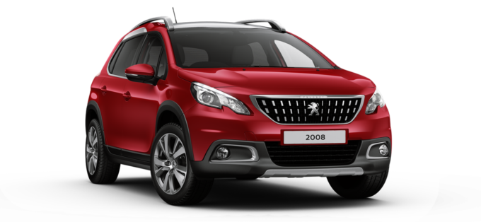 Peugeot 2008 SUV Ultimate Red