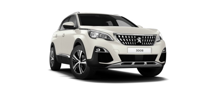 Peugeot 3008 SUV Pearlescent White