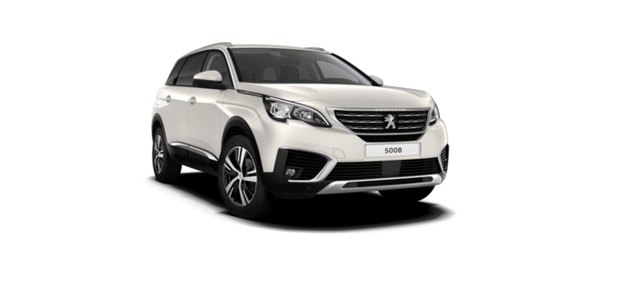 Peugeot New 5008 SUV Pearlescent White