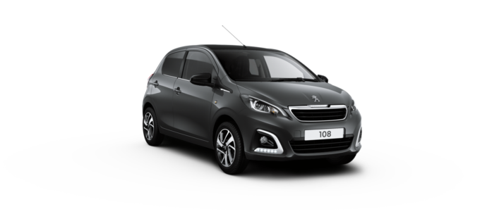 Peugeot 108 Hatchback Carbon Grey