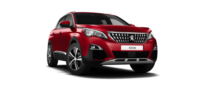 Peugeot 3008 SUV Ultimate Red