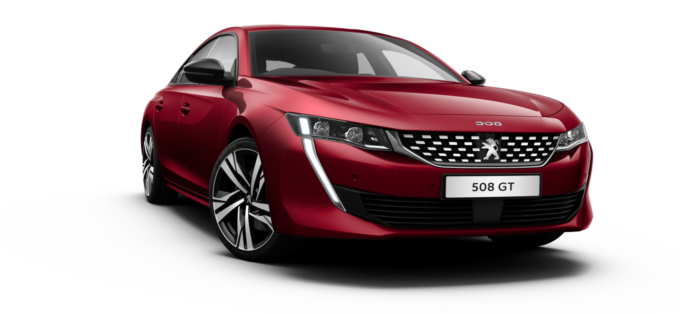 Peugeot All-new 508 Fastback Ultimate Red