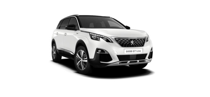 Peugeot NEW 5008 SUV GT Line Bianca White