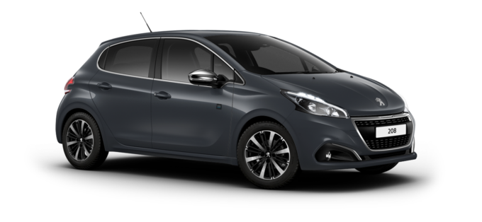 Peugeot 208 5-Door Hurricane Grey