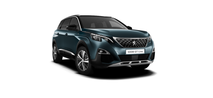Peugeot NEW 5008 SUV GT Line Emerald