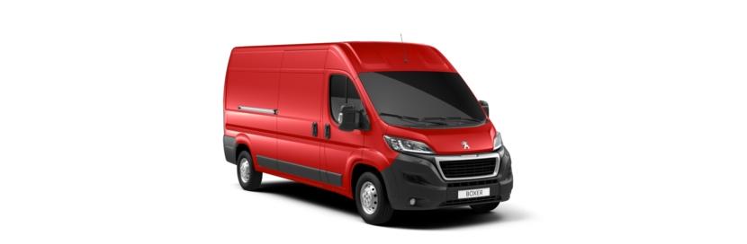 PeugeotBoxerVolcano Red
