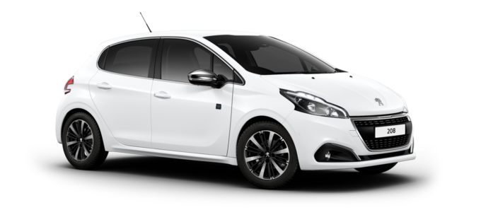 Peugeot 208 5-Door Bianca White