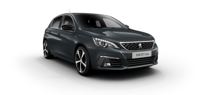 Peugeot 308 5-Door Hurricane Grey