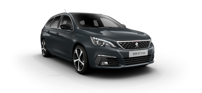 Peugeot New 308 SW Hurricane Grey