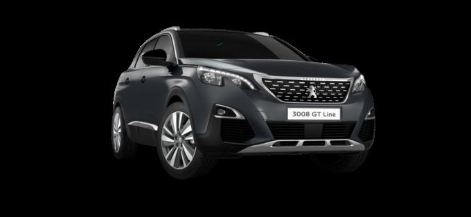 Peugeot3008 SUV GT Line PremiumHurricane Grey